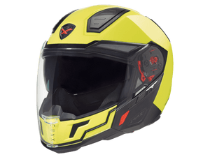 Nexx X40 Full Face Motorcycle Helmet Plain Neon Yellow Crash Helmet 01x4024000