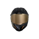 Nexx XR2 CARBON GOLDEN EDITION Full-Face Motorbike Crash Helmet Motorcycle Helmet Front