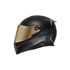 Nexx XR2 CARBON GOLDEN EDITION Full-Face Motorbike Crash Helmet Motorcycle Helmet Side