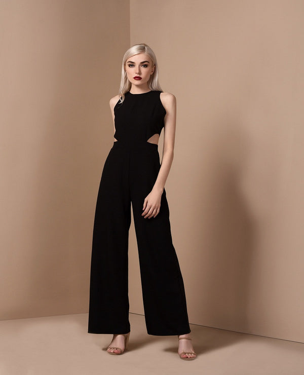 RAF Unit Pantsuit in Black