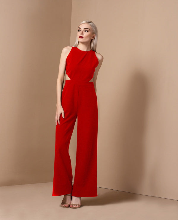 RAF Unit Pantsuit in Red