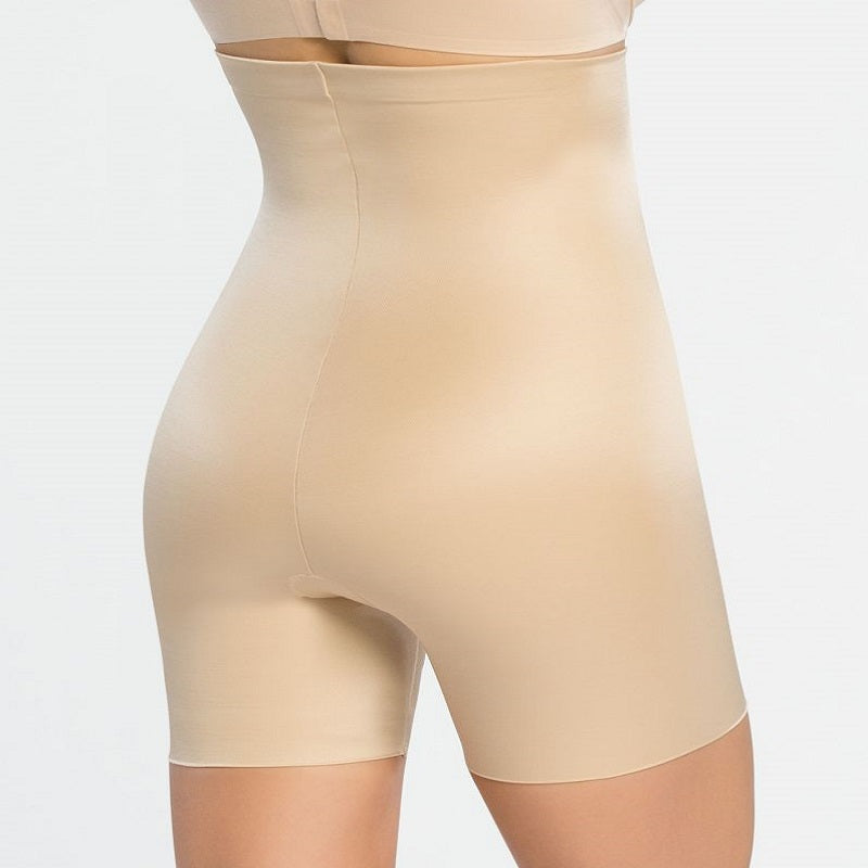 Spanx Power Conceal High Waist Mid Thigh Nude