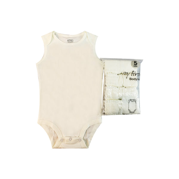 Infant's Sleeveless Bodysuit Value Pack
