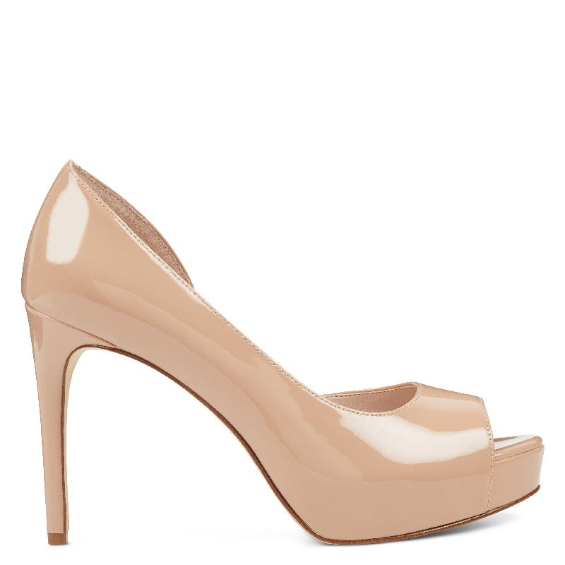 Nine West Expensive Half d'Orsay Pumps in Light Nude