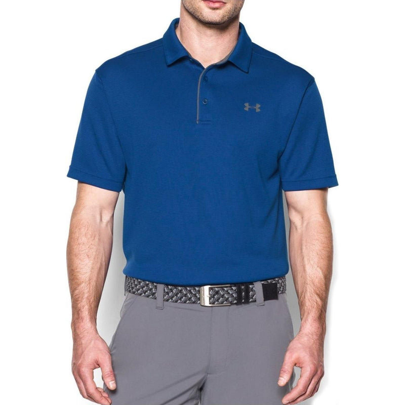 Under Armour Men's Tech Golf Polo Shirt - Royal