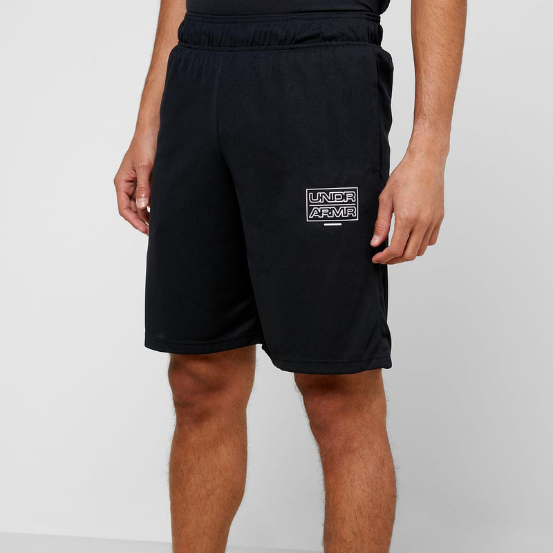 Under Armour Men's Baseline Practice Shorts - Black