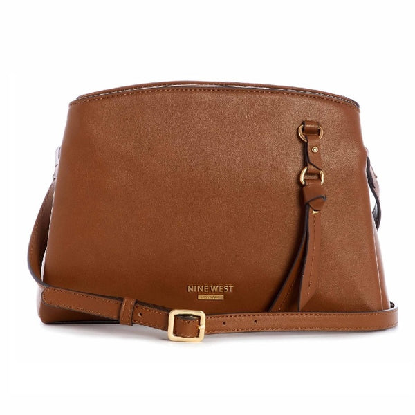 Nine West Maisie A-List Crossbody in Cognac