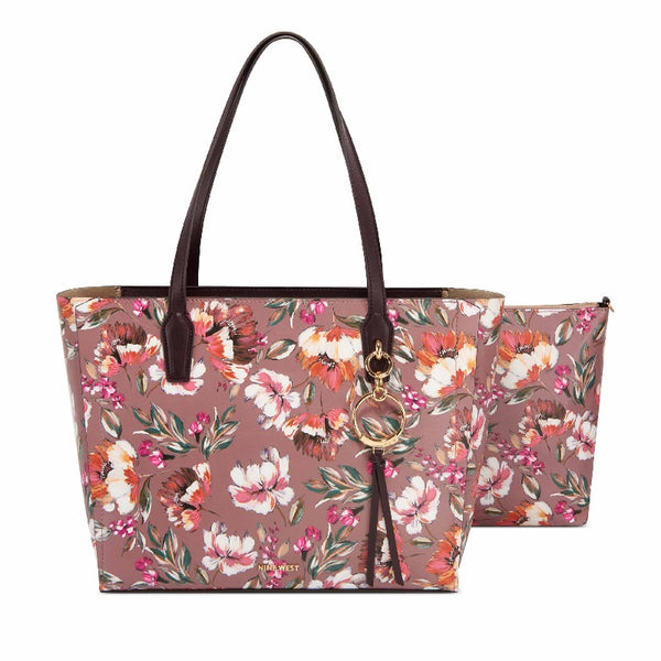 Nine West Ring Leader Tote in Floral Meadows