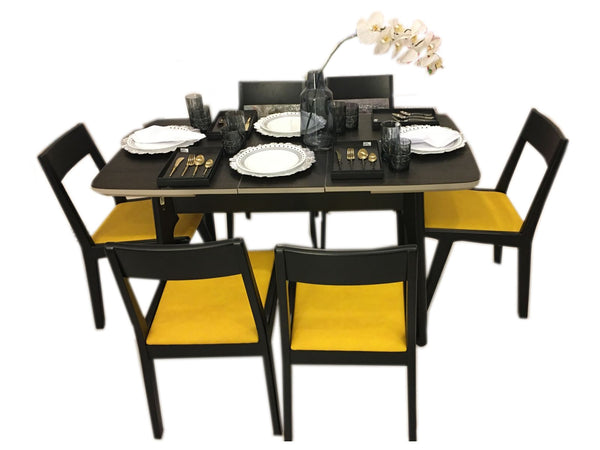 6-Seater Space Saver Convertible DiningTable