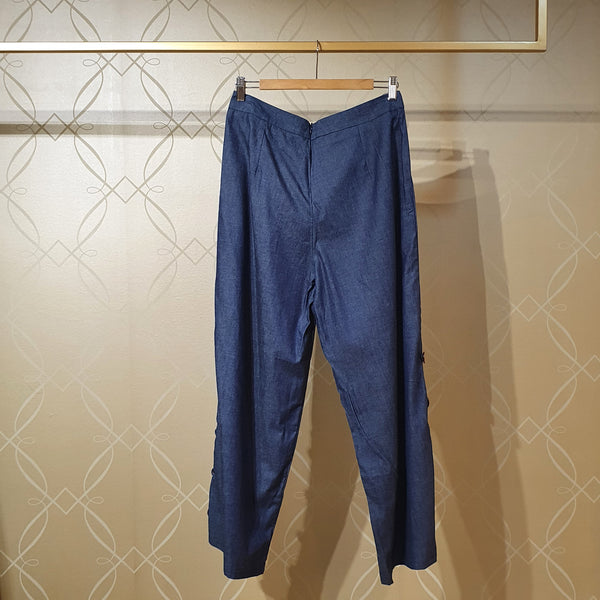 Canvas Fern Pants in Chambray
