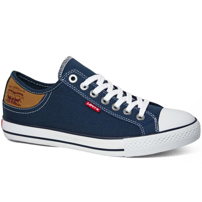 Levi's Men's Stan Buck Canvas Sneakers - Blue/White/Black