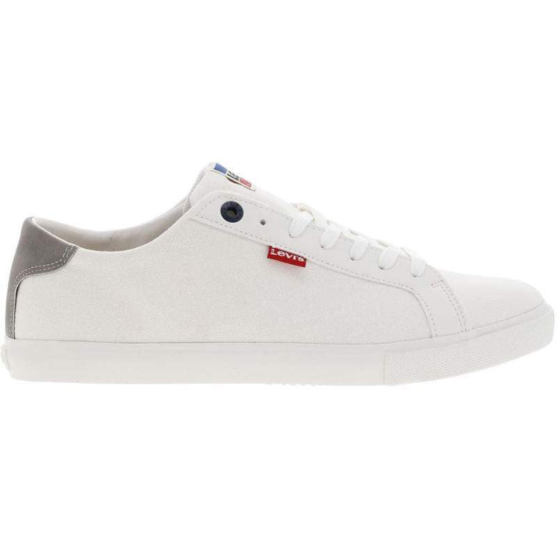 Levi's Men's Woods Sneakers | White/Black