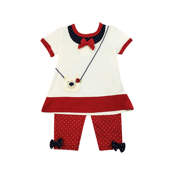 Infant's Blouse and Leggings Set