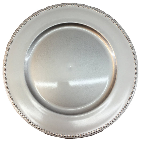 Charger Plate  with Dotted Edge