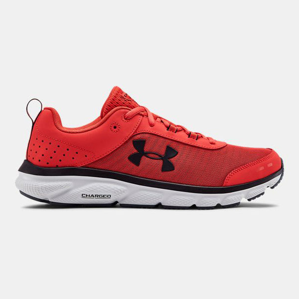 Under Armour Men's Charged Assert 8 Running Shoes | Red/Gray/Black