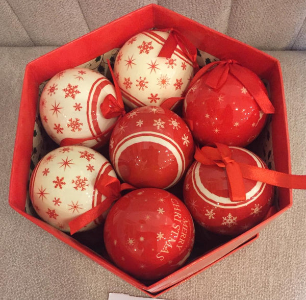 14-Piece Christmas Balls Set