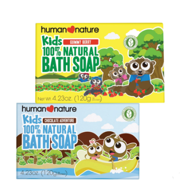 Human Nature Kids Bath Soap 120g