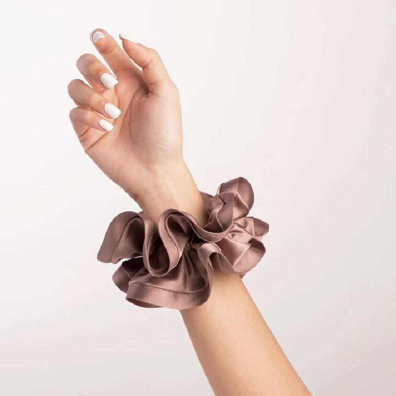 Fina Paloma Rose Scrunchie