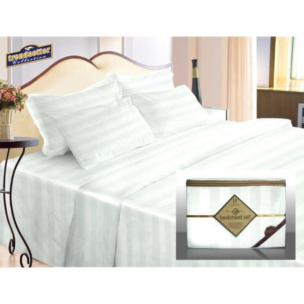 Trendsetter Hotel Collection Bed Sheet Set - Twin