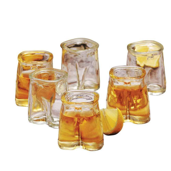 Pants Up 1.5 oz Shot Glass