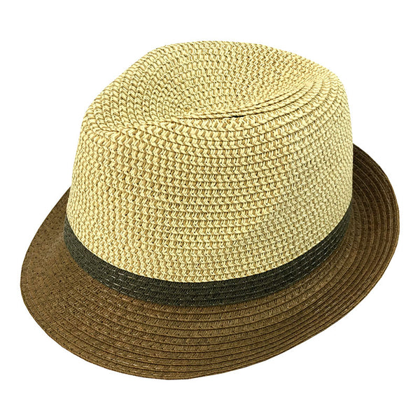 Men's 3-Toned Panama Hat