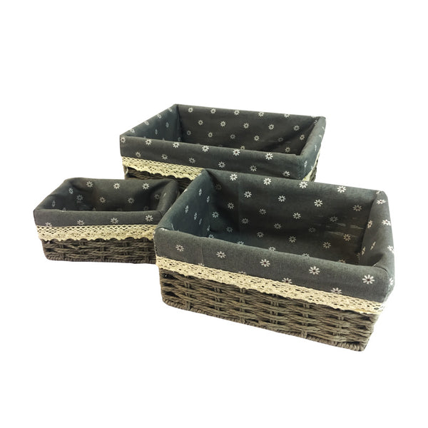 3-Piece Basket Set