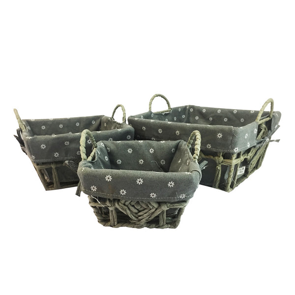 3-Piece Native Basket Set