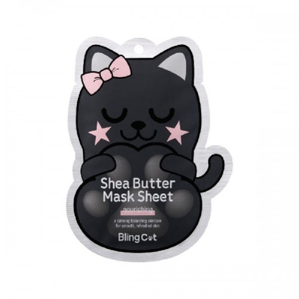 TONYMOLY Bling Cat Shea Butter Mask Sheet