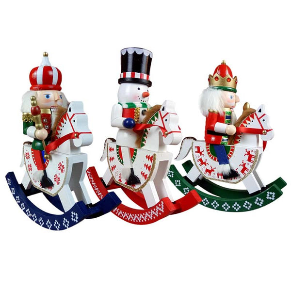 3-Piece Rocking Nutcracker Set