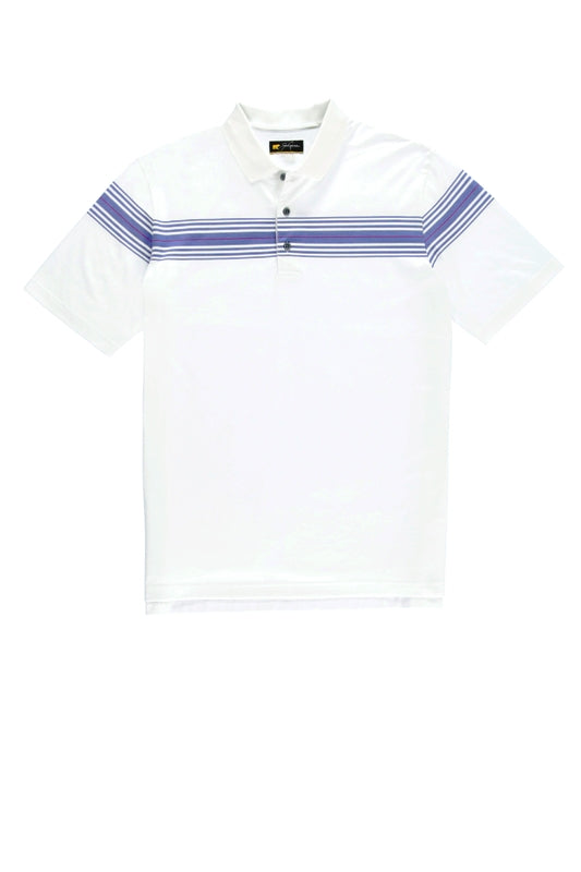 Jack Nicklaus Chest Striped Polo Shirt