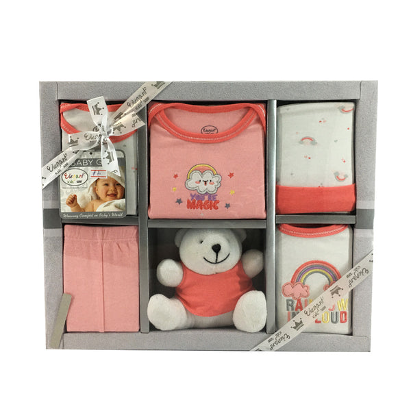 6 Piece Infant Gift Set