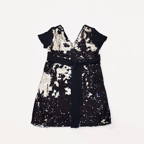 Canvas Naomi Sequin Dress in Black