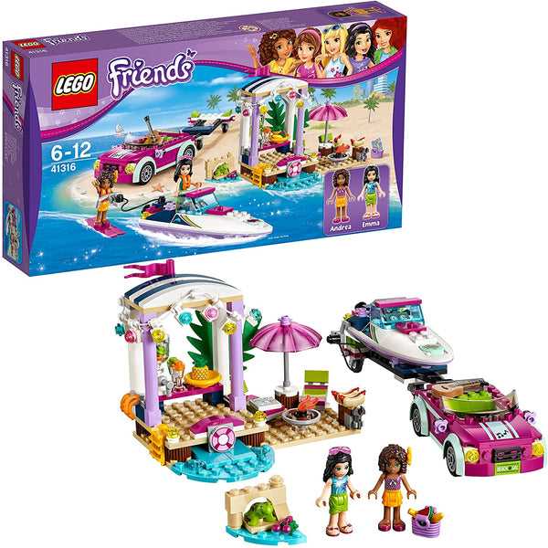 LEGO Friends - Andrea's Speedboat Transporter 41316