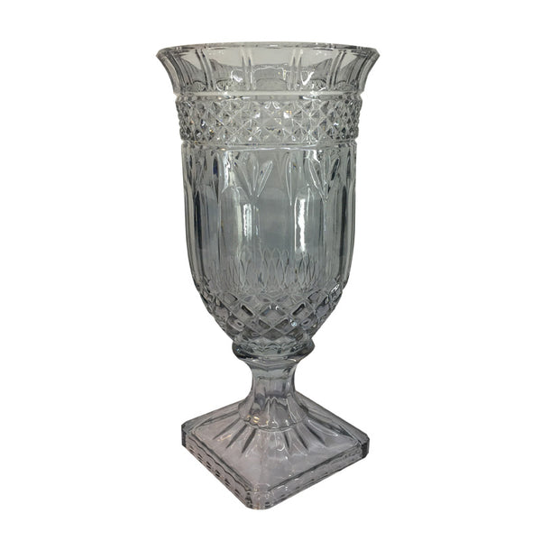 Black Decorative Glass Vase
