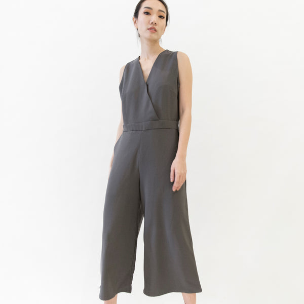 Canvas Ohanna Jumpsuit in Gray