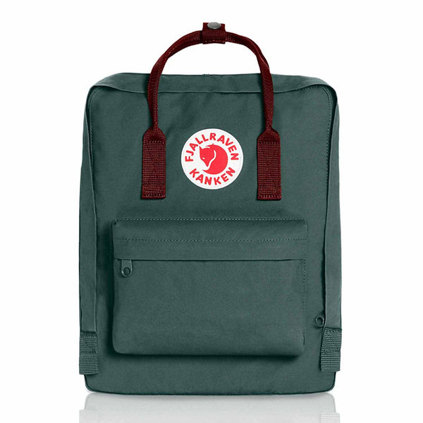 Kanken Classic Backpack | Forest Green - Ox Red