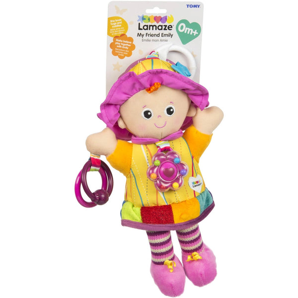 Lamaze Play and Grow - My Friend Emily Doll Rattle