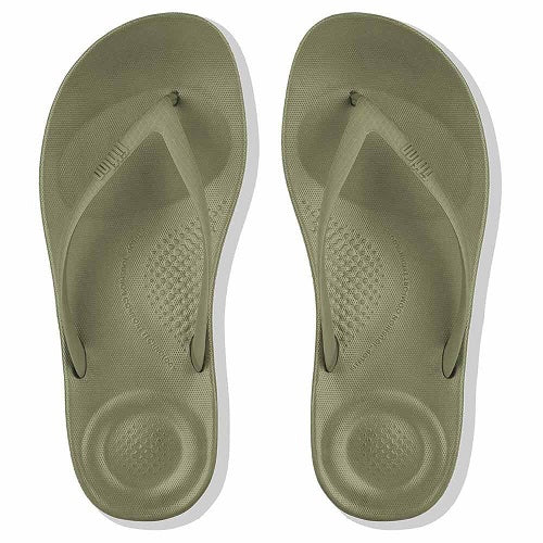 Fitflop Iqushion Ergonomic Womens Avocado