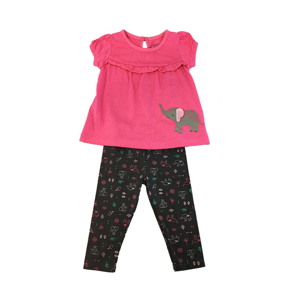 Girl's 2-Piece Terno Set