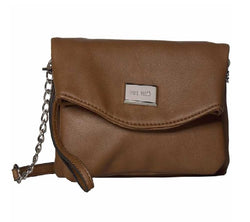 Nine West Coralia Tunnel Crossbody in Bourbon