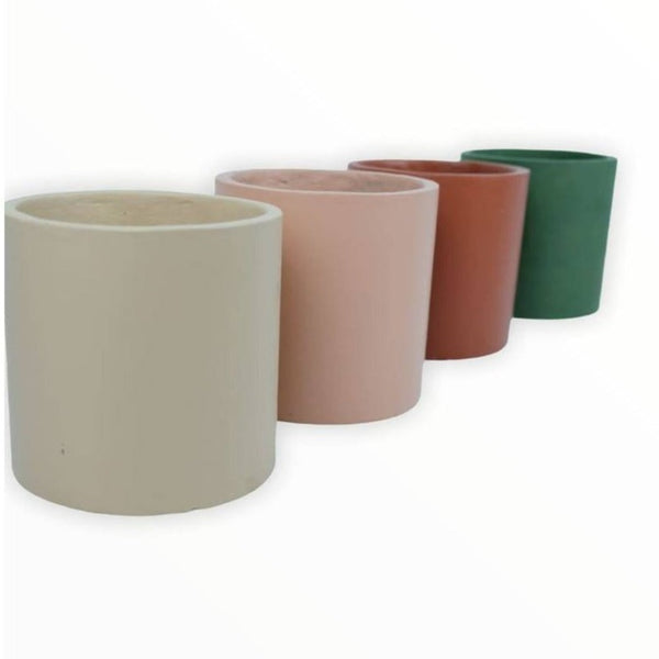 "Modern Pots Ph Cylinder Clay Pot - 7"" x 7"""