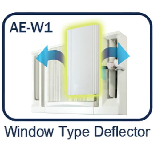 Air Easy AE-W1 Window Type Deflector
