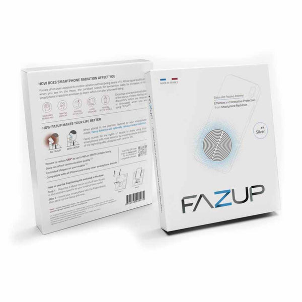 FAZUP Anti-Radiation Sticker Patch (Family Pack of 4 Stickers)