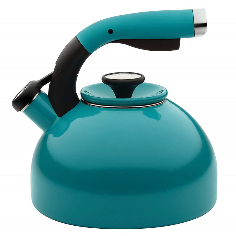 Circulon 2 Quart Whistling Tea Kettle (Turqouise)