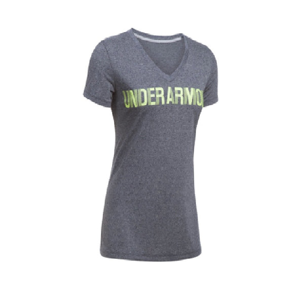 Underarmour Threadborne Graphic  Tshirt Gray