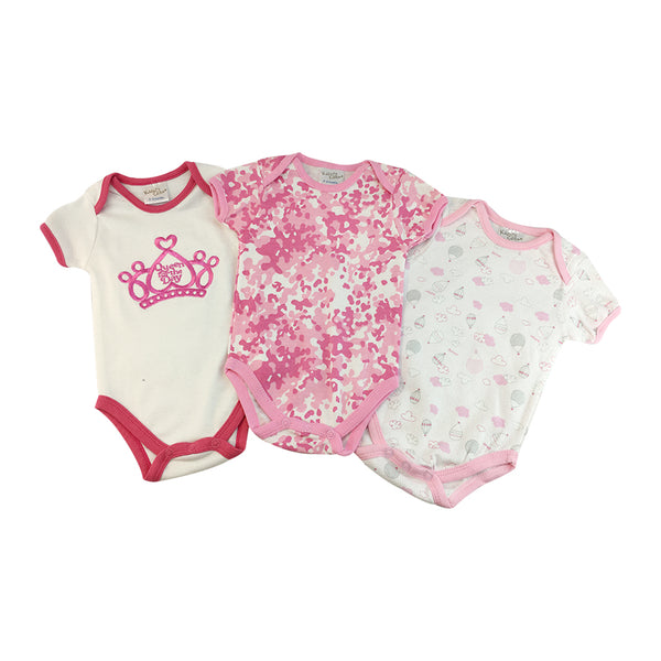 Infant's 3-Piece Bodysuit Set