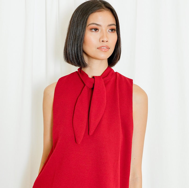 Canvas Luciana Top in Red