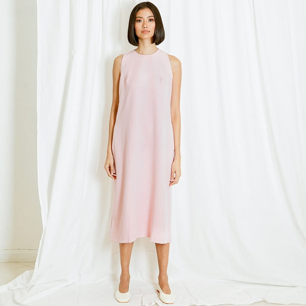 Canvas Sky Dress in Pink