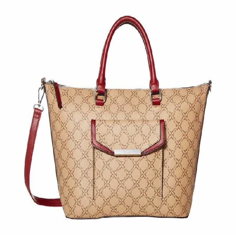 Nine West Haidyn Tote Mocha Multi