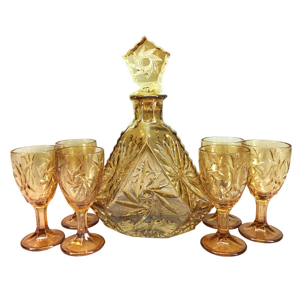 Spirits and Wine Decanter Set